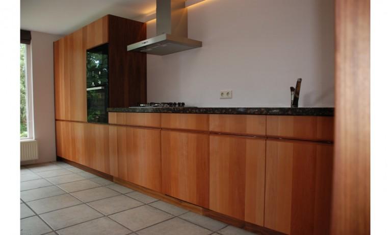 Keuken perenhout